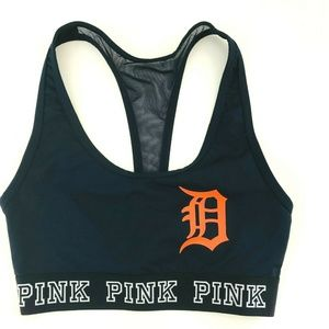 PINK Victoria's Secret Detroit Tigers Sports Bra